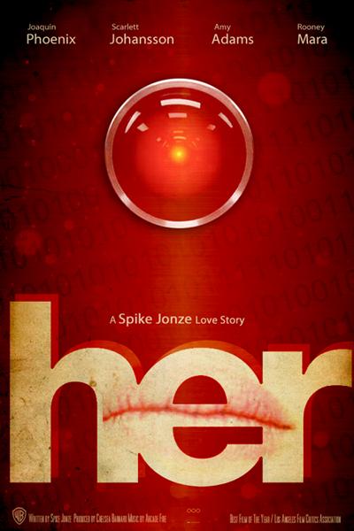 HER MOVIE Alt Poster 2014